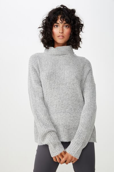 Connie Knit Co-Ord, GREY MARLE