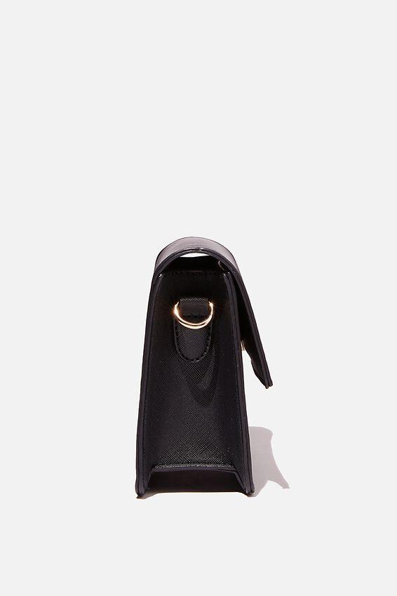 Isla Crossbody Bag, BLACK