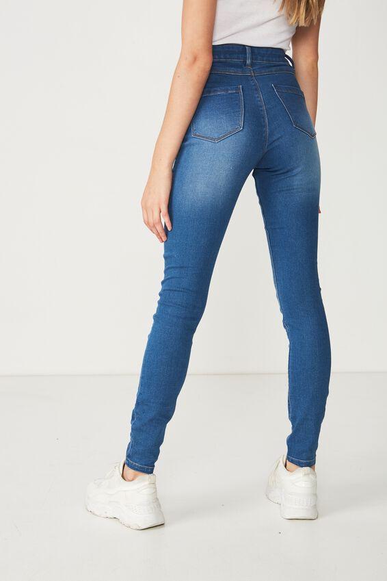 Long Super Skinny Jean, EVER BLUE