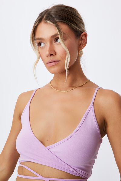 Imogen Tie Up Cami, SWEET LILAC