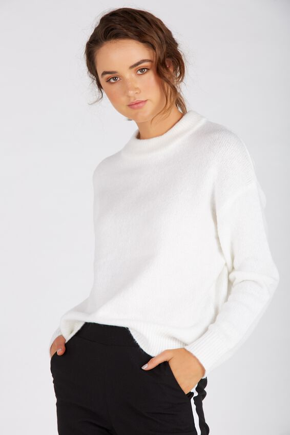 Courtney Cosy Knit Top | Tuggl