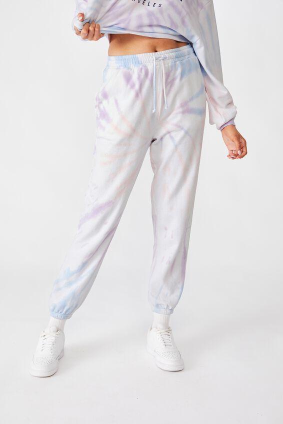 Classic Track Pants, PASTEL TIE DYE