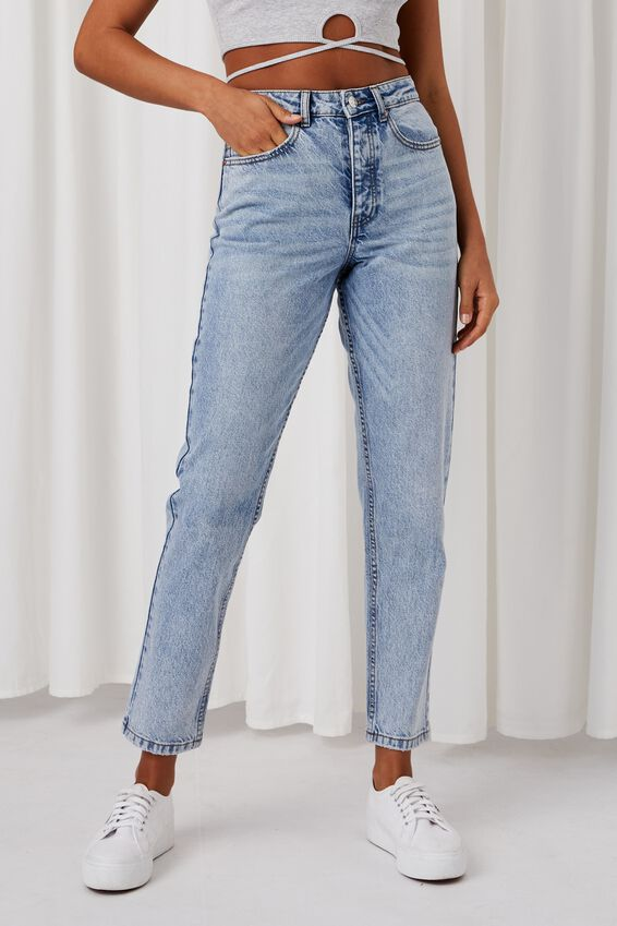 Mom Jean, RETRO BLUE