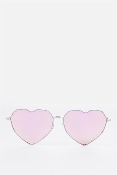 Stevie Heart Frames, LAVENDER