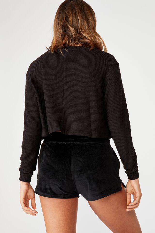 Miya Super Soft Short, BLACK