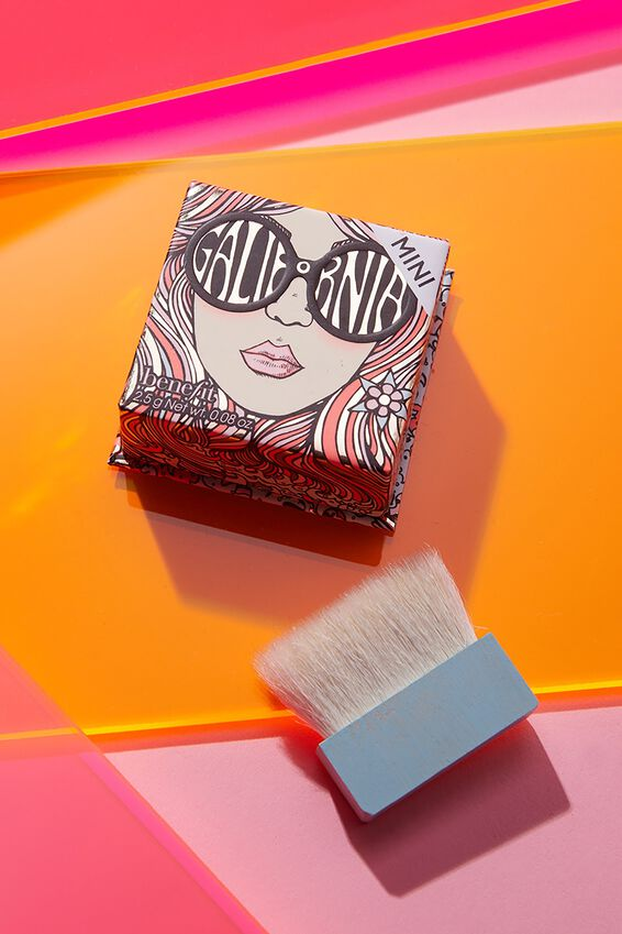 Benefit Galifornia Mini Blush Powder, PINK
