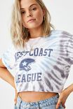 CIRCLE TIE DYE/WEST COAST LEAGUE