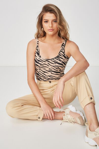 Graphic Bodysuit, MINI SUGAR TIGER