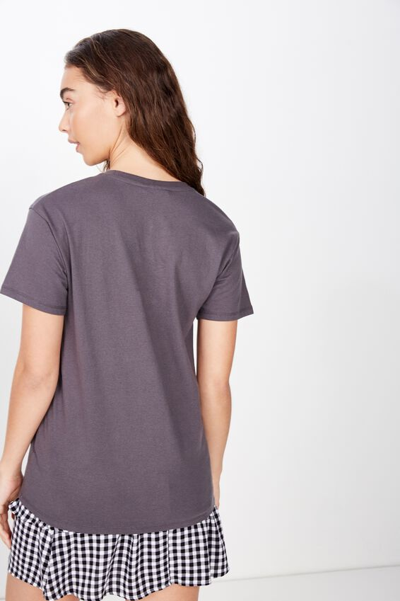 The Kendall Graphic Tee, GRANITE GREY/ACDC