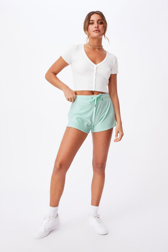 Super Soft Short Shorts, BLEACH AQUA