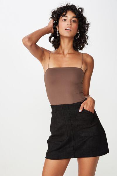 Luxe Elastic Strap Bodysuit baebd83e7