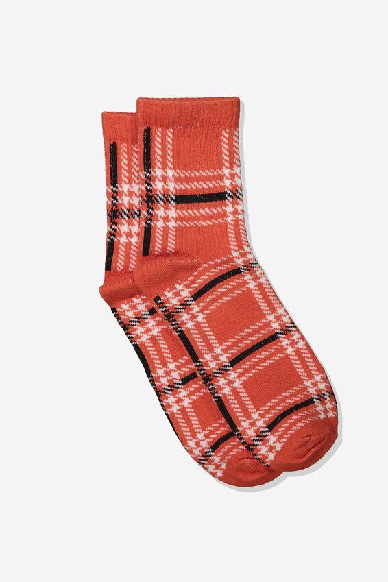 Check Socks, 90s PAPRIKA