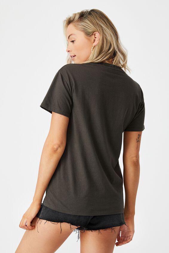 Lola Printed Longline T Shirt, PHANTOM/PARADISE