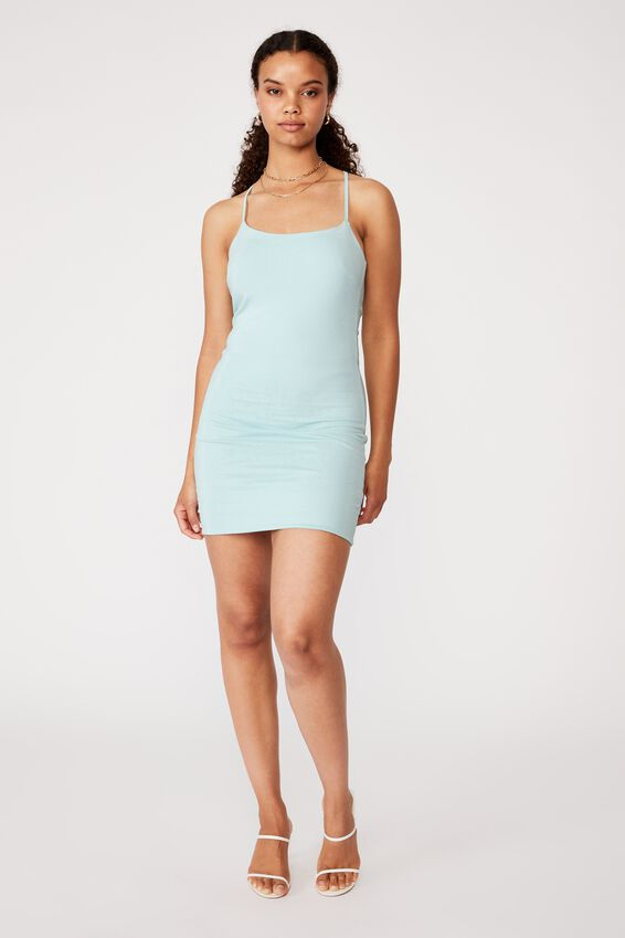 Jordyn Tie Back Strappy Dress, REEF BLUE