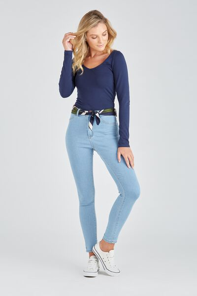 The Skinny Denim Jean, LIGHT BLUE
