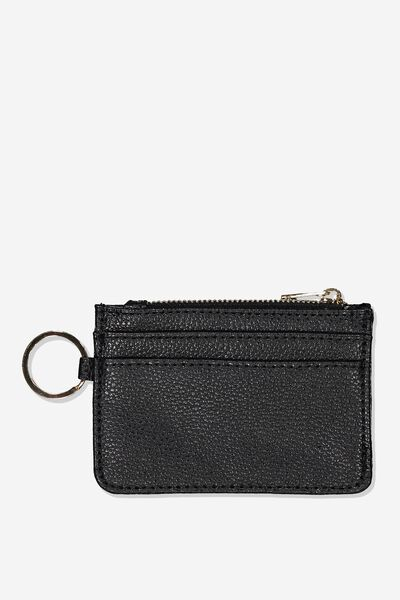 Harper Mini Purse, BLACK PEBBLE