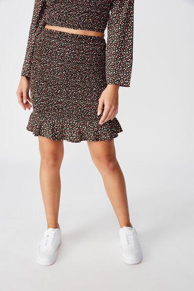 Kitty Shirred Skirt, VINTAGE DITSY