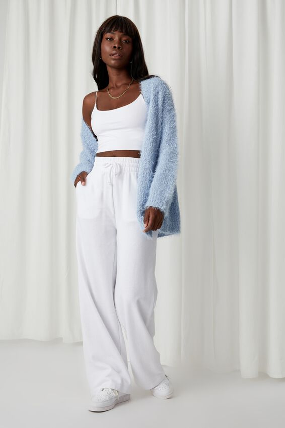 Jessica Super Soft Cardigan, COOL BLUE