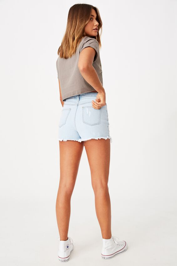 Bondi Denim Short, BLEACHED AS