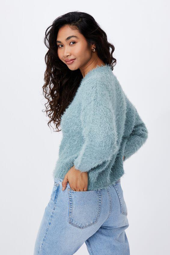 Mia Super Soft Knit, WILLOW GREEN