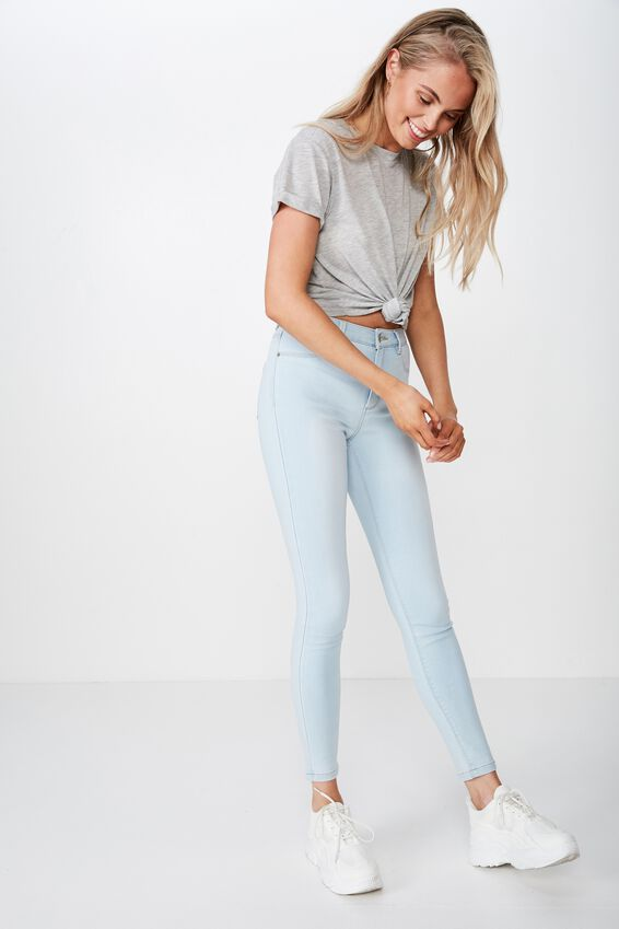 Super Skinny Jean, BLEACH BLUE