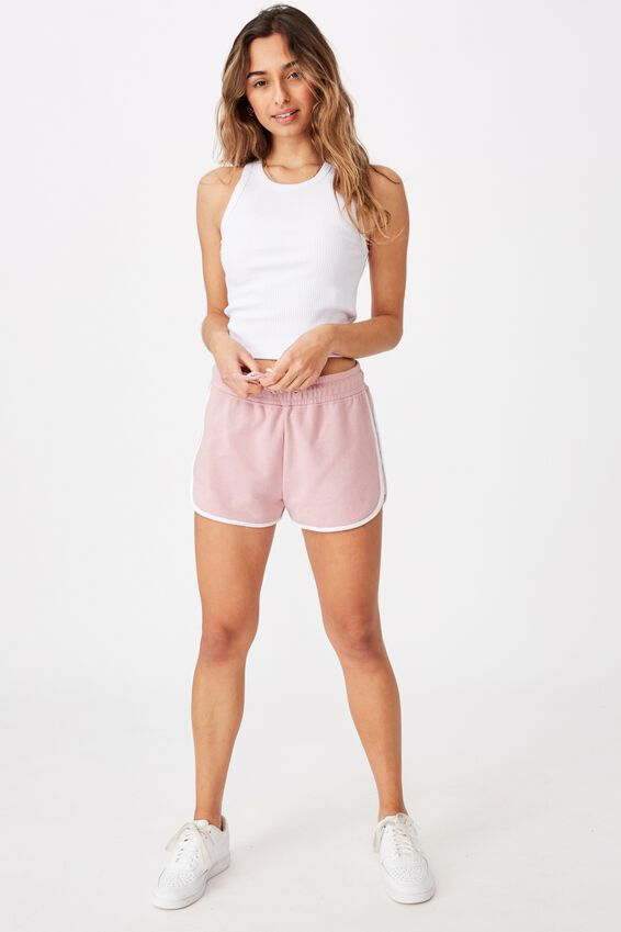 Milly Gym Short, BLOSSOM PINK