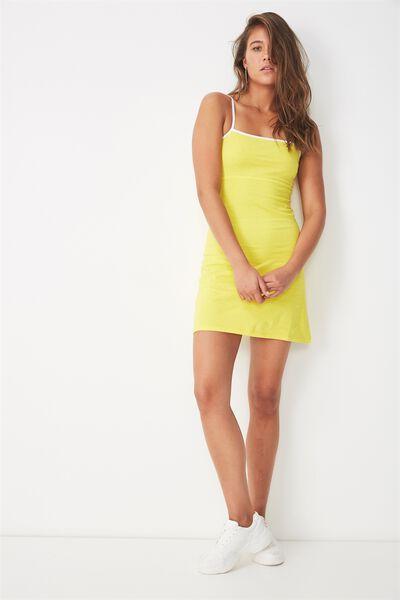 Summer Cami Dress, BUTTER CUP