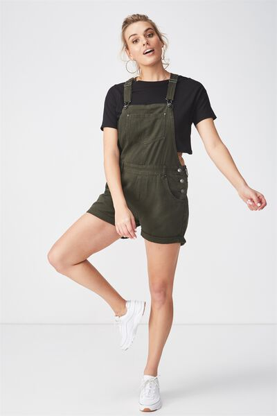 The Denim Dungaree, KHAKI