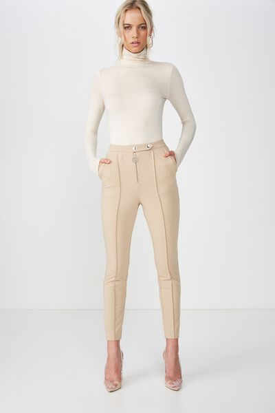 The Paris Cigarette Pant, BROWN SUGAR