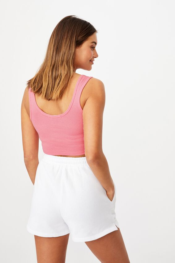 Laurel Notch Front Tank, PUNCH PINK