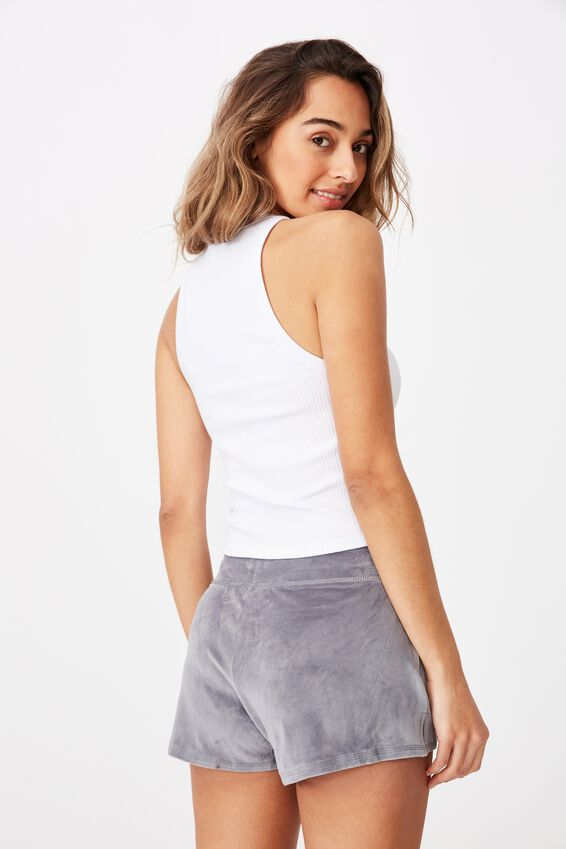 Miya Super Soft Short, STEEL GREY