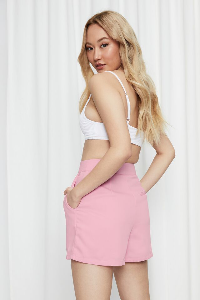 Britney Tailored Short, MAGIC PINK