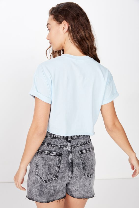 Ciara Crop Tee, FRESH PALE BLUE