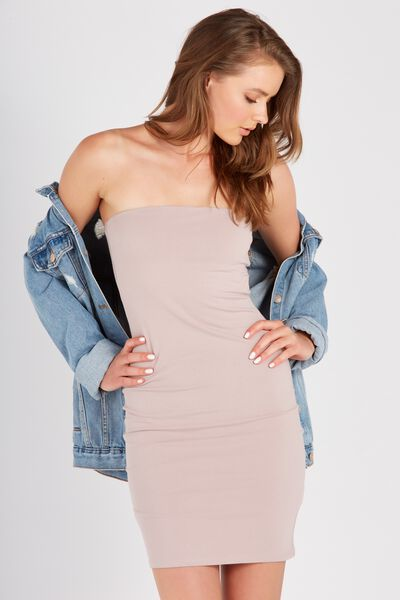 Basic Long Boobtube Dress, SPHINX