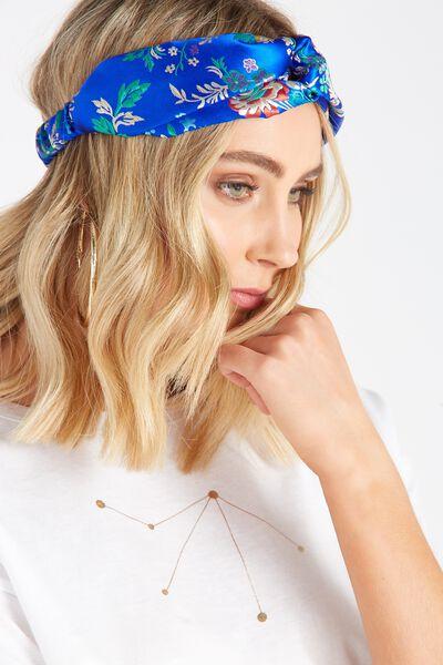 Head Wrap Turban, ORIENTAL BLUE