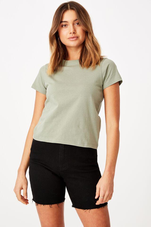 Classic T Shirt, DUST KHAKI