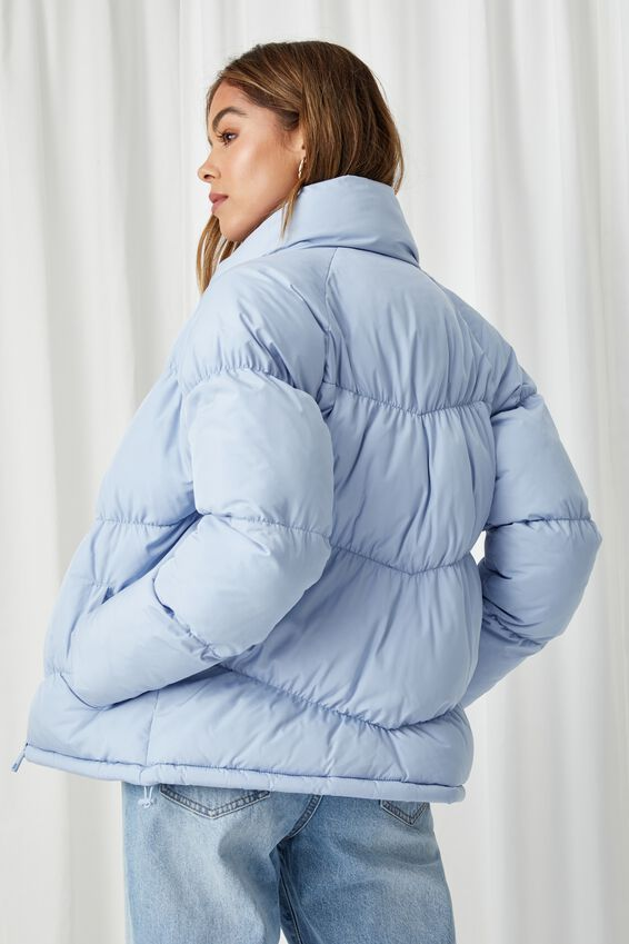 The Classic Feel-Good Puffer Jacket, COOL BLUE