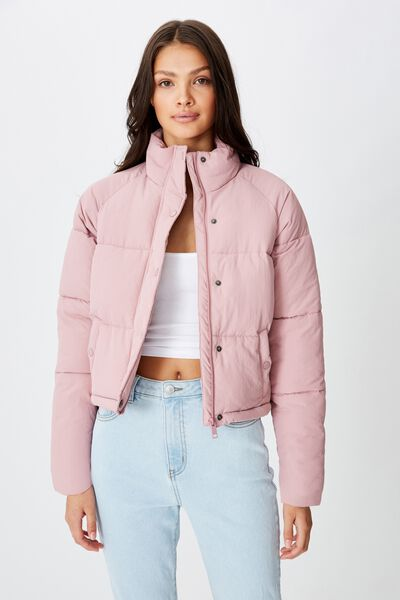 Emma Puffa Jacket, ANTIQUE ROSE
