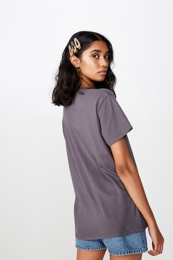 Kendall Printed T Shirt, GRANITE GREY LED ZEPPELIN