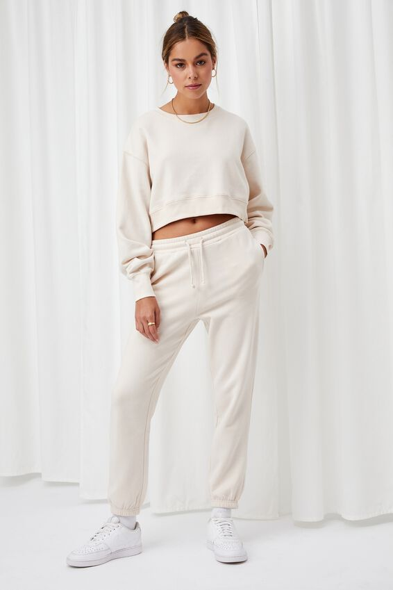 Louisa Cropped Jumper, COOKIES AND CREAM