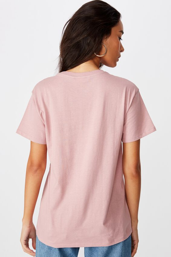 Los Angeles Tee, ANTIQUE ROSE/LOS ANGELES MONO