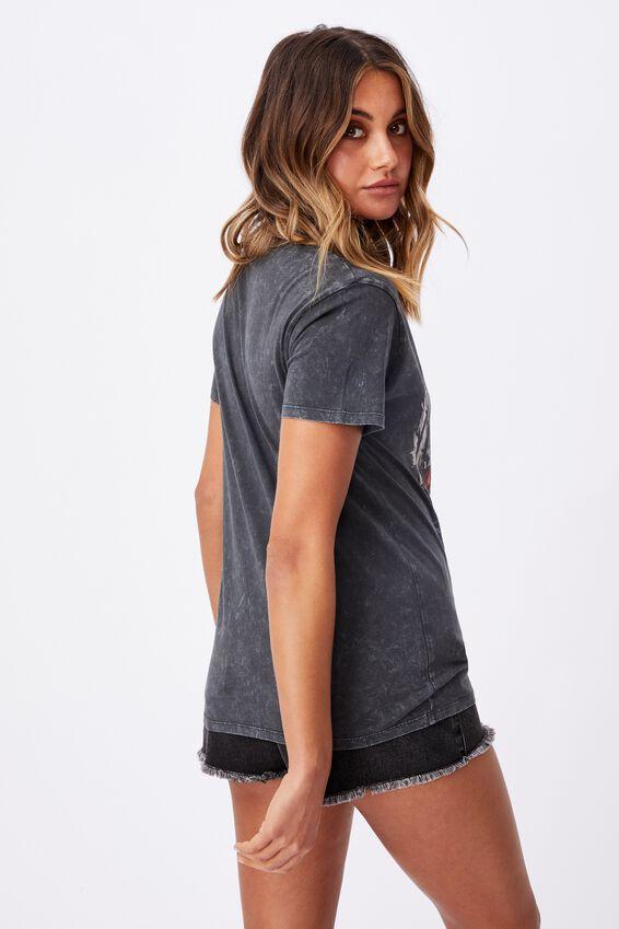 Kendall Printed T Shirt, ACID WASH PHANTOM/LCN MT BIGGIE DREAM