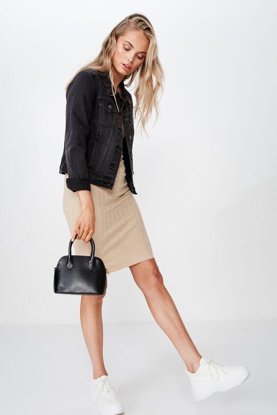 Sienna Mini Cross Body Bag, BLACK