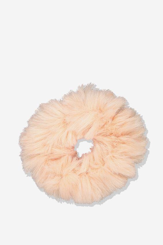 Fluffy Scrunchie, BLUSH