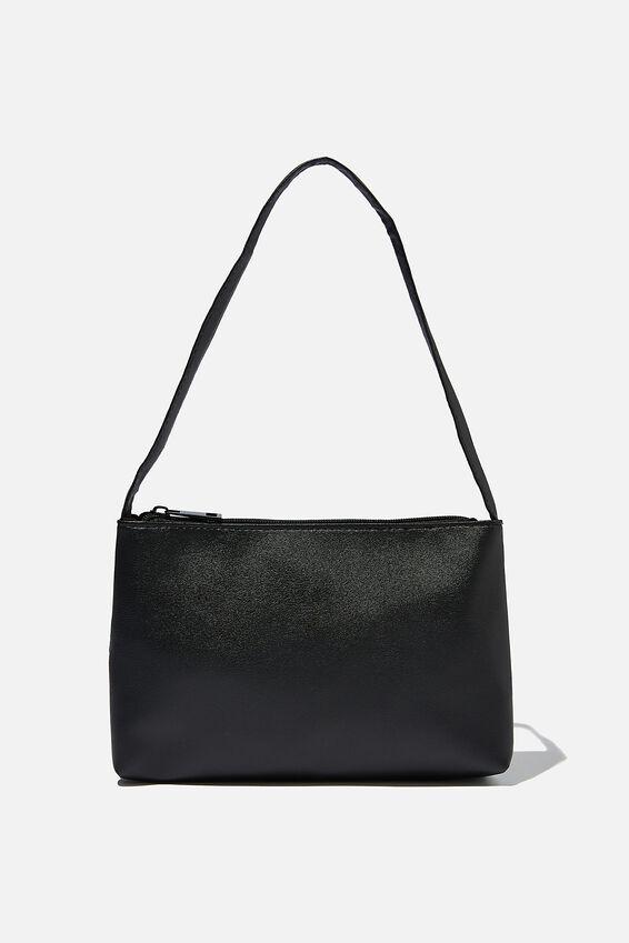 Keira Shoulder Bag, BLACK