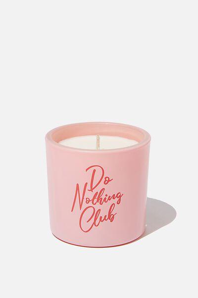 Mini Logo Candle, DO NOTHING CLUB