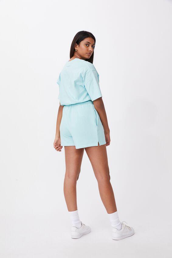 Hayley Sweat Short, REEF BLUE