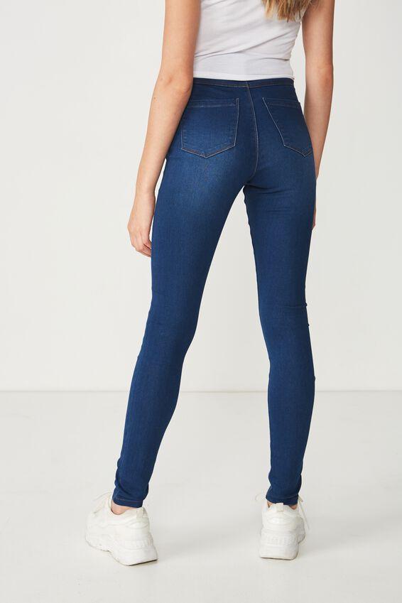 Long Super Skinny Jean, MOON BLUE