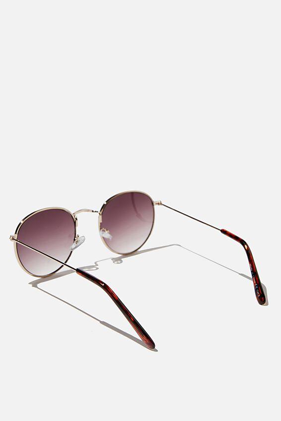 Nadia Classic Sunglasses, GOLD