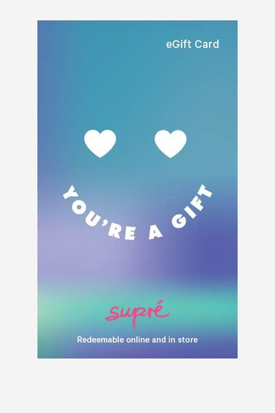 eGift Card, Supre AU Misc